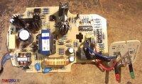 Bosch D-70745 зарядное устройство, плата, расположение деталей