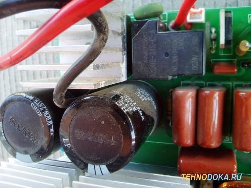 элементы на плате Weldmaster ИСА-190ПН