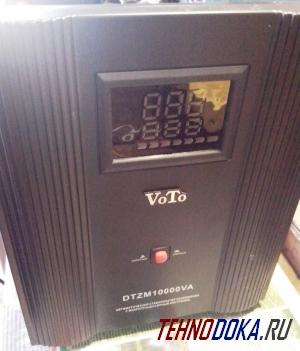 VoTo DTZM10000VA, внешний вид