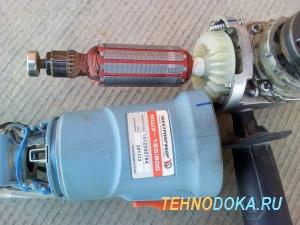 Электроприбор МШУ-125/800 в разобранном виде